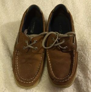 Sperry tan shoes size us 3m